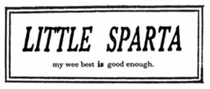 Little Sparta stamp