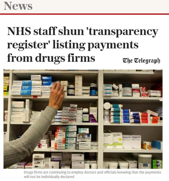 52 percent NHS staff 'shun' ABPI Register