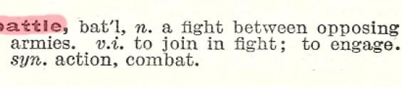 battle definition