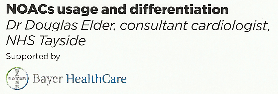 Dr Douglas Elder, Bayer HealthCare, 2015
