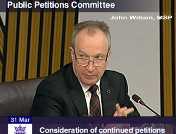 John Wilson, MSP