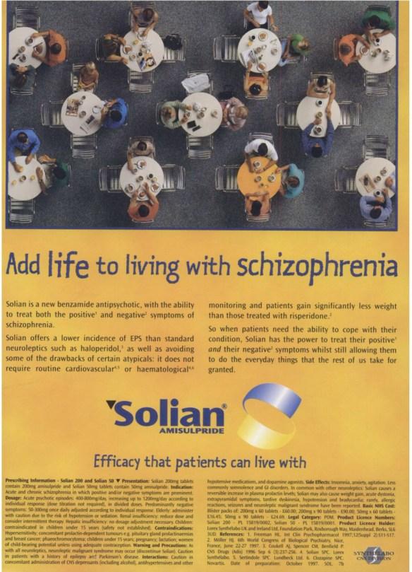 1997 British Journal of Psychiatry advert 02
