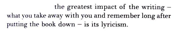 Lyricism and Lee 1