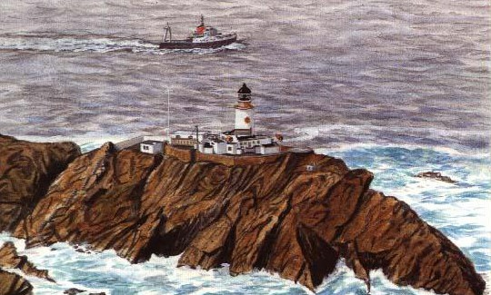 Muckle Flugga as it is today