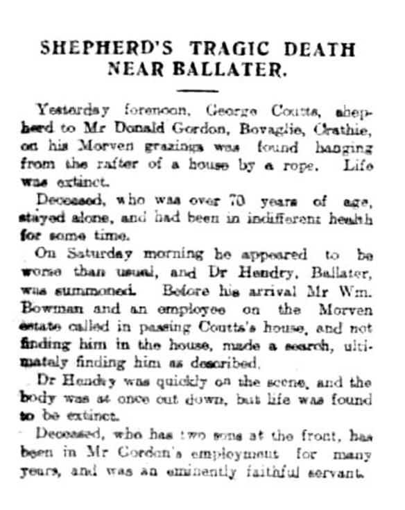 21 Aug 1915 hanging