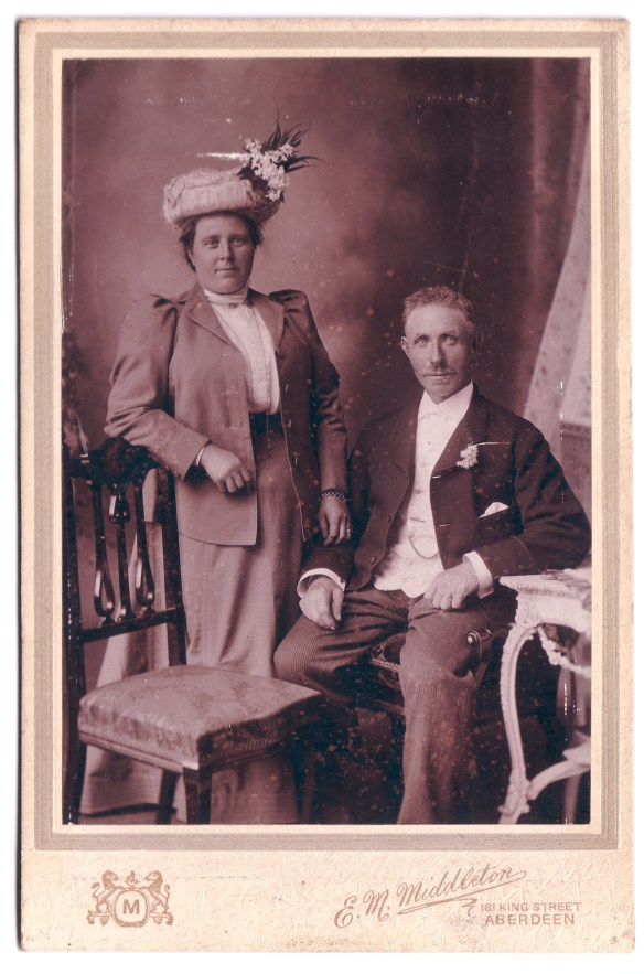 Peter Gordon Kennedy and Adeline Cooper