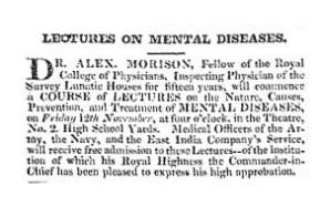1824 - Dr Morison in Aberdeen