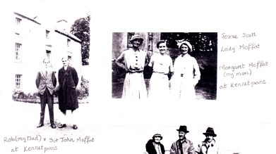 Old Robert Scott and his family at Kennetpans