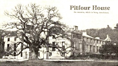 Pitfour 1930 to be demolished