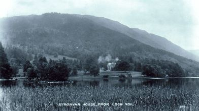 Stronvar House, Loch Voil, Perthshire, 1910