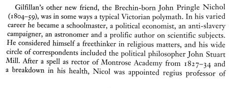 George Gilfillan and John Pringle Nichol