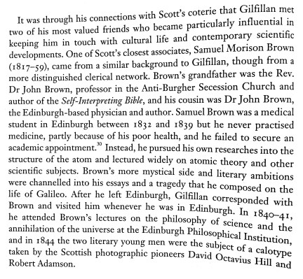 George Gilfillan and Samuel Brown