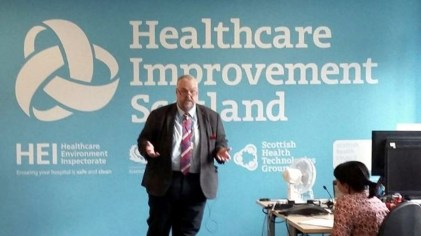 Healthcare Improvement Scotland, PAG1962 at the centre, 27 July 2016