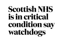 Scottish NHS, Oct 2015 f