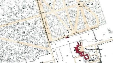 1858 OS map Panmure