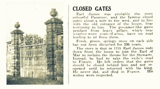 3 Feb 1951 Closed Gates (Panmure)