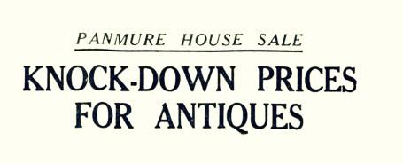7 Aug 1952 PanmUre House sale