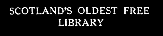 Scotland's oldest free library
