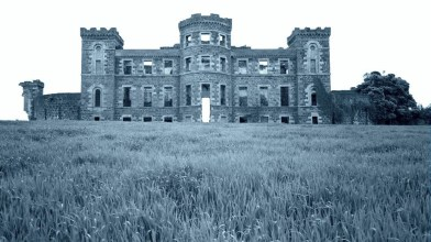 Rossie Castle, Montrose, July 1957 (18)