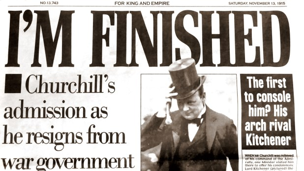 13 nov 1915 churchill