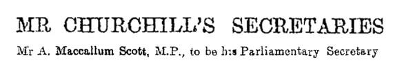 mr churchill's secretaries aug 3, 1917 ams - copy