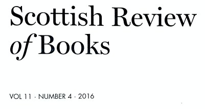 scottish review of books, 2016 (1)