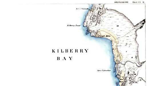 1868 map of Kilberry bay (1)