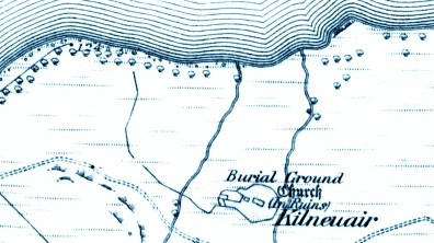 1871 map of Kilneuair