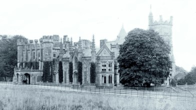 Crawford Priory - mid Victorian period