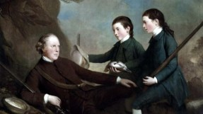 Lady Mary Lindsay Crawford's father and two of her brothers