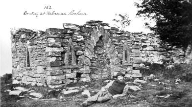 View of Kilneuair Mausoleum, 1880, Rev James Bannatyne Mackenzie 2