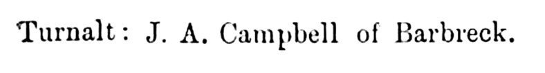 Campbell o' Barbreck (2)