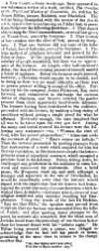 'A New Comet' - April 1862 on James Miller of Haldrick