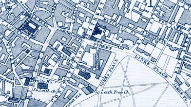 Constitution Street, Leith map 2