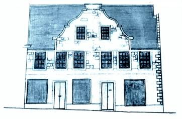 Greenock - Dutch Gable House (1761) visited 31 August 2019