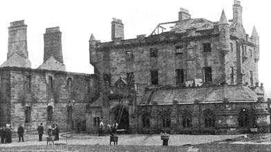 July 1908 Douglas Support (fire)