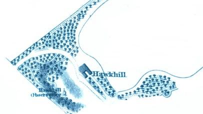 1820s map Hawkhill (2)