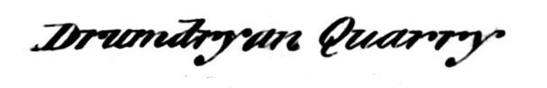 1893 OS book- Drumdryan, Cupar 2