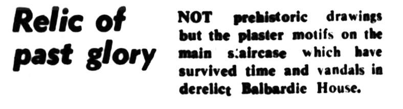 Balbardie - July 1974