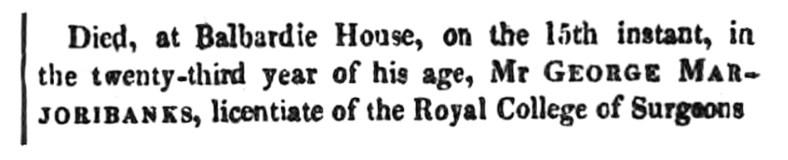 Balbardie - June 1828