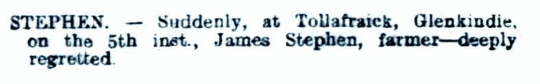 5 Nov 1916 Tollafraick