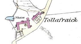 Tollafraick OS map 1867