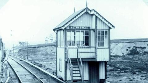 Altnabreac signal box 1952