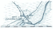 Dalnawillan Lodge 1905 map