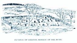 New Dosk 1896, NewDosk, Ferrcairn, Funeral of Colonel McInroy of The Burn