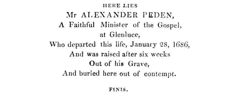 04 The Life and Prophecies of Alexander Peden