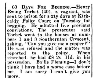 Henry Ewing Torbet, 19 Jan 1952