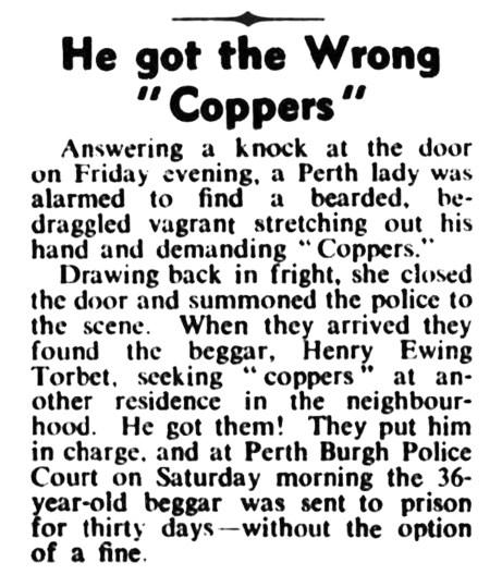 Henry Ewing Torbet, 30 Jan 1947