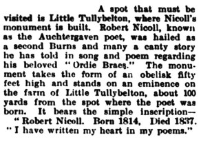 Little Tullybelton June 1935