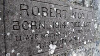 Robert Nicholl monument, Tullybelton (2)